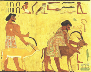 Beni Hasan Tomb Painting Egypt