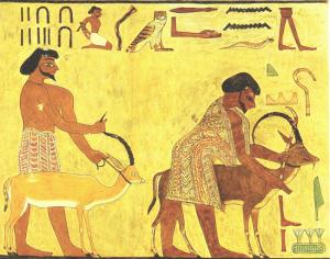 Beni Hasan Tomb Painting Egypt
