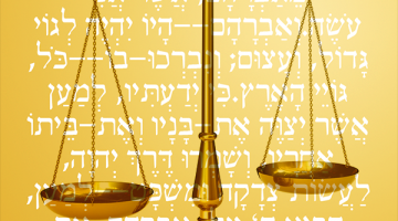 Parashat Vayera:  The lessons of Avraham's plea for S'dom