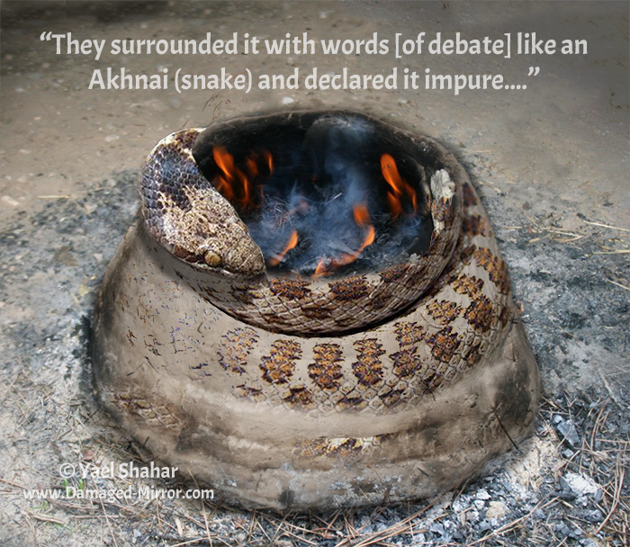 """They surrounded it with words like a snake..."""